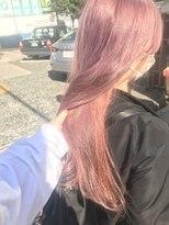 pail pink×salmon pink