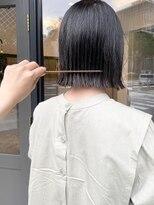 ヘアーアイスカルテット(HAIR ICI QUARTET)プツッと外はねボブ