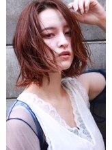 ジェシカ(JESSICA)【JESSICA】ふんわりくせ毛風大人かわいいボブ