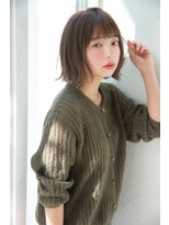 アンアミ オモテサンドウ(Un ami omotesando)【Unami 島田梨沙】 小顔×お洒落ボブ☆