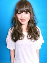 スイーティー(swi:ti)光色イルミナカラー☆ソフトグレージュのSWEETロング