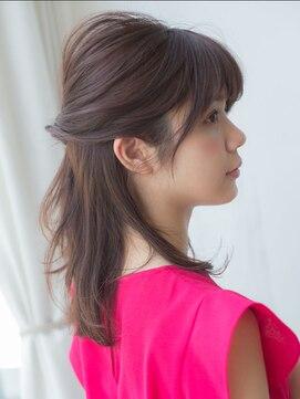 バイオレット 表参道店(Violet)【violet表参道】浅沼雄元 簡単ハーフアップ