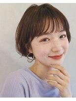 ガーデン アオヤマ(GARDEN aoyama)【豊田楓】大人かわいい 丸みショート ショートボブ 小顔