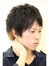 アメイジングヘアー(Amazing HAIR)デザインカラー×ショートスタイル