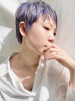 アミ(ami)の写真/『ケアブリーチ導入で、ハイトーンカラーもダメージレスに』理想の透明感を叶えます♪