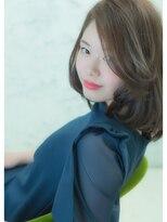 オゥルージュミュゼ(Aurouge)【aurouge musee 伊藤瑛未里】かきあげ前髪ミディ