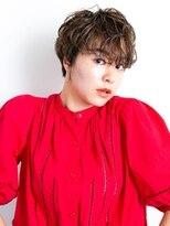 ラパンセオランジュ(LA PENSEE ORANGE)【 LA PENSEE orange 】 店長坪井 ハンサム 丸みショート