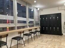 銀座ラボ 本八幡店(LA. BO)の雰囲気(落ち着いた待合スペース。ロッカー完備。【本八幡】)