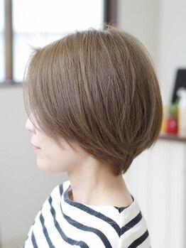 ヘアー フリカケ(Hair furicake)の写真/【JR茨木駅すぐ】今までにない透明感と艶感で若々しく◆オシャレ染めのような綺麗な発色をあなたも体感♪