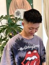 ルッツ(Lutz. hair design)crop style