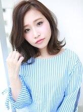アグ ヘアー ミエル 大久保店(Agu hair miel)斜めバングミディ☆温感スタイル