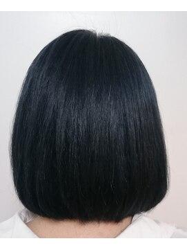 ソイル ヘアー(soil hair)BLUEBLACK