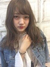 ミニム ヘアー(minim hair)【minim hair×日比】透けるようなスモークブルー☆