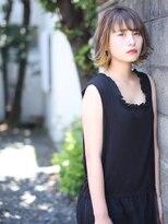 グリット ヘアプラスフォト(grit HAIR+PHOTO)【grit.】YOHEI WORKS (ベージュ×ブロンド)
