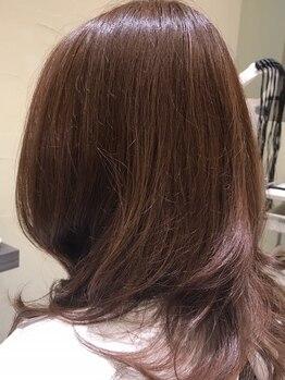 ヘアー アディクション アイディーアール(hair addiction IDeaR)の写真/サロンでの仕上がりがお家でも再現できる◎自分でキレイを創れるから、毎日のスタイリングが楽しくなる♪
