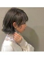 アルマヘアー(Alma hair by murasaki)ツヤカラーマットベージュ