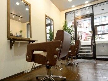 オーブヘアー(AUBE hair)の写真/【三ツ境・AUBE hair】初めての方でも気軽に足を運べる暖かな雰囲気と確かな技術力にリピーターも多数★