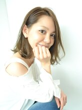 ヘアークリエイト ミリ(hair create mm)パーマミディ【切りっぱなしVer.】