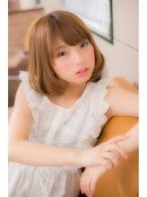 ユキオ オブ ヘアー(YUKIO of Hair)重×軽ミディアムボブ【yukio of hair王子本店】