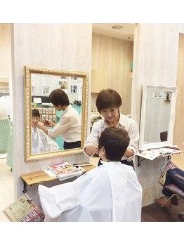 ヘアメイクココア(COCOA)の写真/茅野駅前すぐ!便利で通いやすい!明るいスタッフが幅広い年代のお客様をお迎えします♪