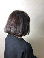ヘア プロデュース キュオン(hair produce CUEON.)violet color × Bob