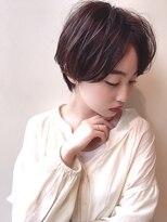 ビューティーコネクション ギンザ ヘアーサロン(Beauty Connection Ginza Hair salon)『田邊可奈』大人かわいい小顔マニッシュセンシュアルショート