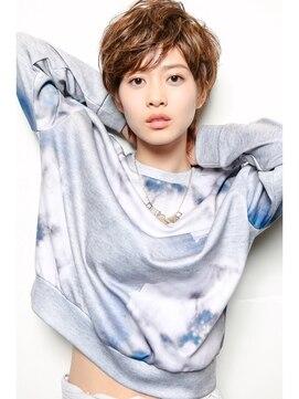 モダンヘアスタイル 吉瀬美智子 髪型 画像 : beauty.hotpepper.jp