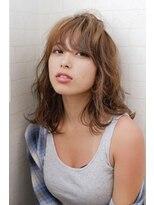 アルマヘア(Alma hair)ヌーディベージュ☆バウンスカールレイヤー【Alma hair】