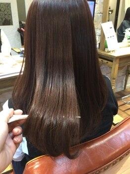 サロン ド ラクサージュ(salon de Luxage)の写真/[髪質改善サロン]艶髪を手に入れたい方必見!ハリ/コシが減った…など年齢と共に増えるお悩みを解消します。