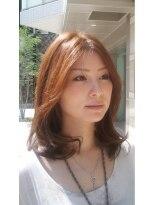 サイブ(Saibu)【Saibu】モーブブラウン♪ミディアム カラー&カット&T