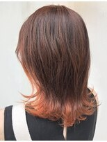 ヘアー アイス カンナ(HAIR ICI Canna)オレンジブラウンカラー