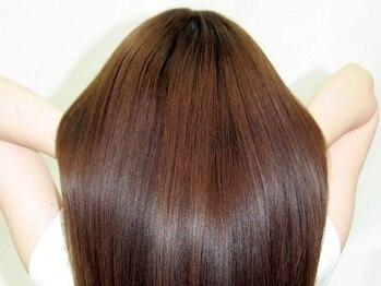 アッドランプ ヘアー 柳津店(add Lamp hair)の写真/リピーター続出!!噂の『天然小麦粉カラー』で、栄養補給しながらダメージレスに理想の髪色を叶える!