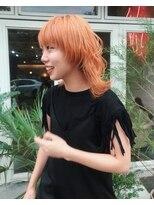 チカシツ(Chikashitsu)orange wolf style