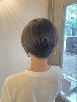ベックヘアサロン 広尾店(BEKKU hair salon)春夏にイメチェン!襟足刈り上げのスッキリショートボブヘア♪