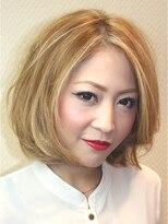 パッツンの☆AXY札幌☆ミルキーボブ画像
