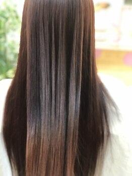 エル(EL)の写真/アフターケアで叶う、美しい髪。厳選したシャンプー・トリートメント・商剤でツヤと潤い溢れる美しい髪へ♪