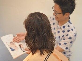 ヘアー デザイン ソレイユ 東久留米店(Hair Design SOLEIL)の写真/とことんダメージレスにこだわった豊富なメニューをご用意。指通りの良いなめらかなヘアスタイルを実現♪