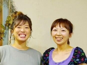 """ヘアーガーデンニコモカ(Hair Garden NICOMOCA)の写真/【千舟】""""キレイ・似合う・飽きない""""にこだわったスタイルを提案。気疲れしない人柄も人気の理由♪"""