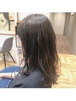 アルマヘアー(Alma hair by murasaki)赤味を抑えたダークグレージュ