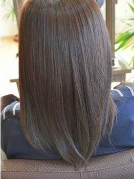 ピーエス ヘアーデザイン(PS. Hair Design)の写真/『もともと私、ストレートですけど』な自然な矯正が出来ます!