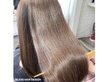 ブレスヘアーデザイン(BLESS HAIR DESIGN)の雰囲気(ツヤ・ダメージレスを叶える髪質改善サロンです☆)