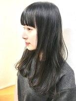 ノイエ(noie)noie杉山舞☆暗髪モードアッシュ