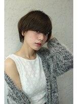 マノンバイエイチ(MANON by H)【ショートマッシュ】×【ダークアッシュ】