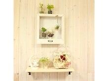 ヘアーメイクアンドガーデンスパ ローズマリーの雰囲気(店内にはかわいい小物やお花がいっぱい!癒してくれます♪)