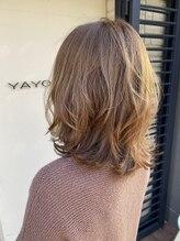 ヤヨイヘアー(YAYOI HAIR)カット+イルミナカラー