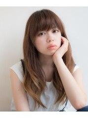 【カラーコース】 カット+ファッションカラー¥8970→¥6480
