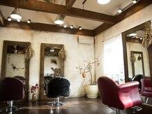 ヘアーサロン カミヤ(hair salon kamiya)の雰囲気(贅沢なプライベート空間で至福のひと時を♪)