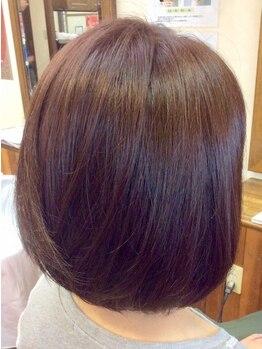 ヘアーメイク リンク(Hair Make LINK)の写真/真っ直ぐにしたいわけじゃないけど、ちょっとクセが気になる!新メニュー★フュージョン★