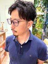 モリオフロムロンドン 大宮店(morio from London)《かんべあやか》men's parm style