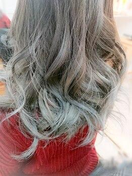 エメ ヘア デザイン(aimer hair design)の写真/[アディクシーカラー]で透明感のある外国人風カラーを演出◎ダメージケアしながら理想のカラーにチェンジ☆